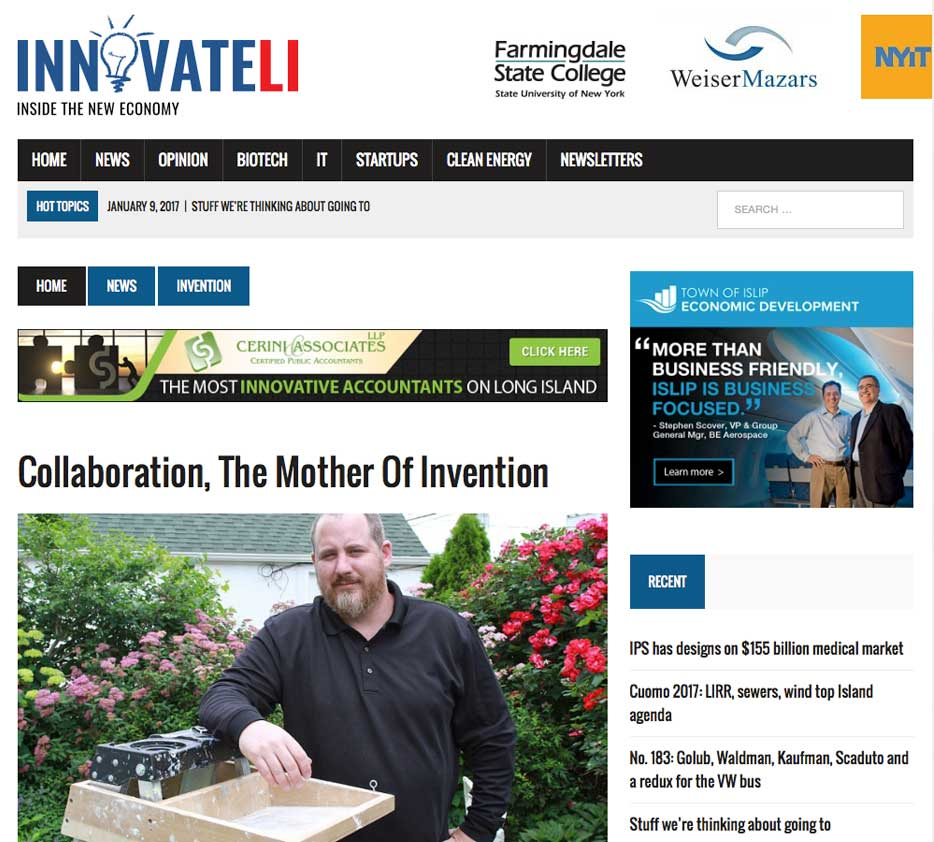 innovateli Collaboration The Mother Of Invention Brian Fried