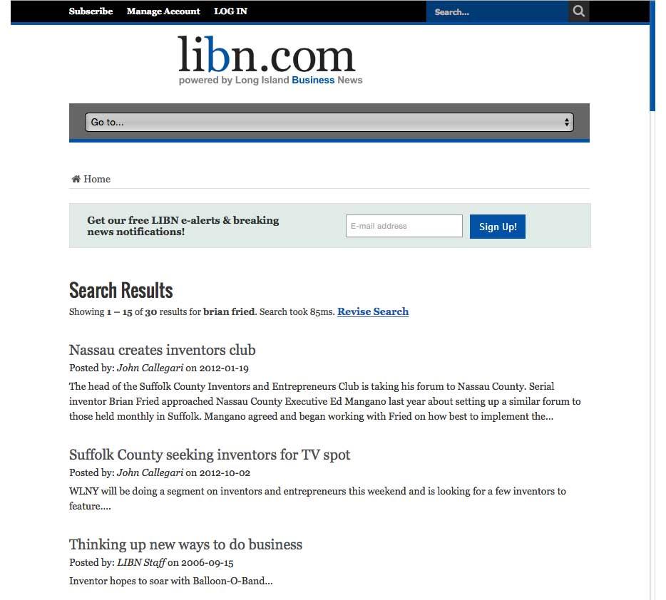 libn United Inventors Association names executive director Brian Fried